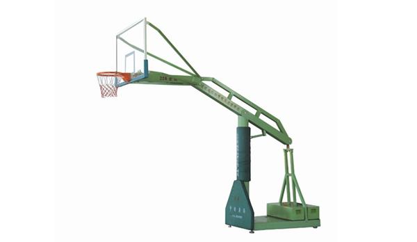 特级220忧华牌独臂箱式移动篮球架