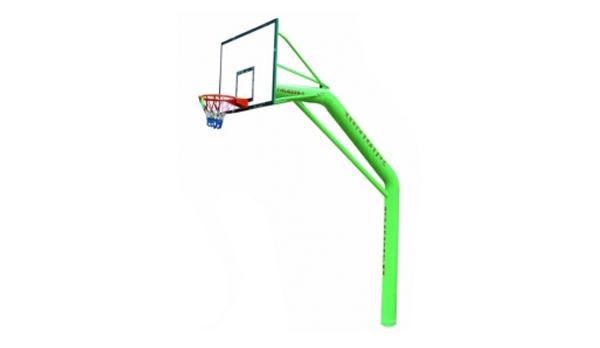 YHLG-220-1独臂固定篮球架