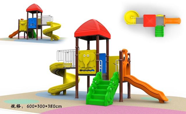 YHHT-1406组合滑梯