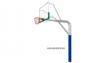 梧州YHLM-220-2独臂固定篮球架
