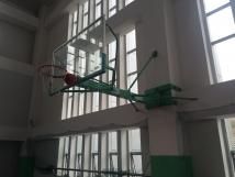 固定式挂壁篮球架