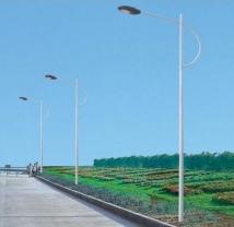 道路灯杆1