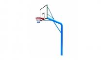 YHLG-165-3、YHLG-165-4独臂固定篮球架